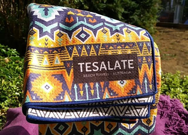 Tesalate Beach Microfiber Towel Aztec Inca Print