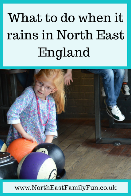 What to do when it rains in North East England | 20 places to visit with kids - all accessible via Public Transport