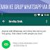 Cara Menambahkan Orang ke Grup WhatsApp Dengan Cara Berbagi Tautan ( Via Invite Link )