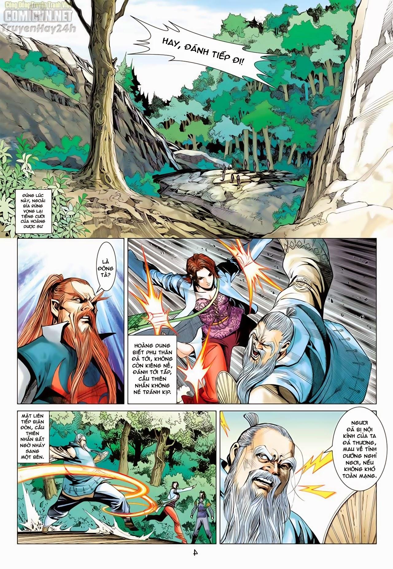 Anh Hùng Xạ Điêu anh hùng xạ đêu chap 65: cái bang tân chủ trang 5