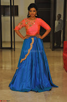 Nithya Shetty in Orange Choli at Kalamandir Foundation 7th anniversary Celebrations ~  Actress Galleries 134.JPG