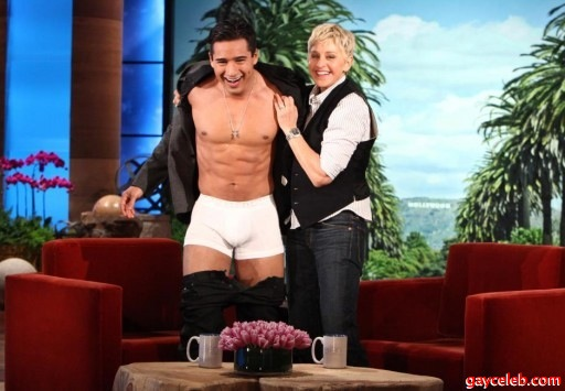 Something is. Mario lopez lingerie the