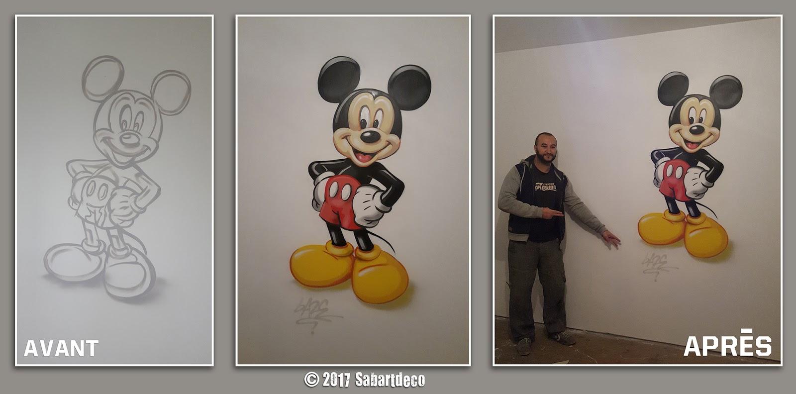 Decoration Chambre Sur Le Theme Mickey Mouse A Annay Lens