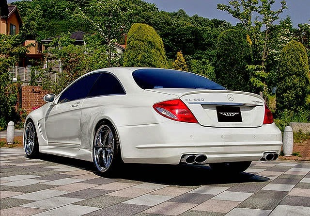 mercedes cl 550 widebody