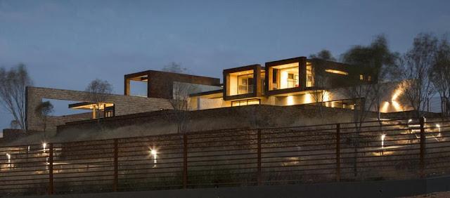 การออกแบบตำแหน่งไฟนอกบ้าน