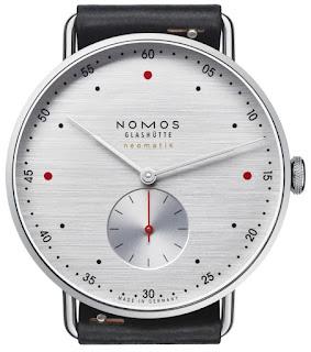 Montre Nomos Metro Neomatik 39 silvercut
