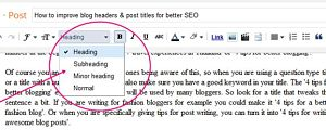 How to create best article on blog