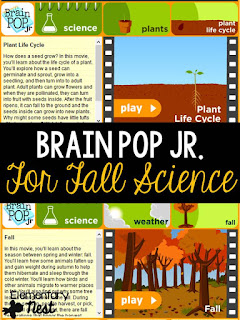 Fall Science- activities to help integrate science into your fall teaching- changing leaves