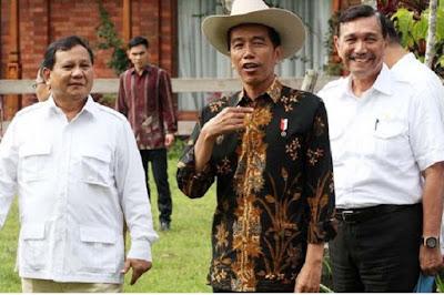 Prabowo Diberitakan Minta 7 Kursi Kabinet jika Jadi Cawapres Jokowi, Gerindra Sebut Hoaks - Info Presiden Jokowi Dan Pemerintah