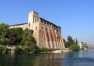 The Borromeo Castle by the Adda at Cassano d'Adda