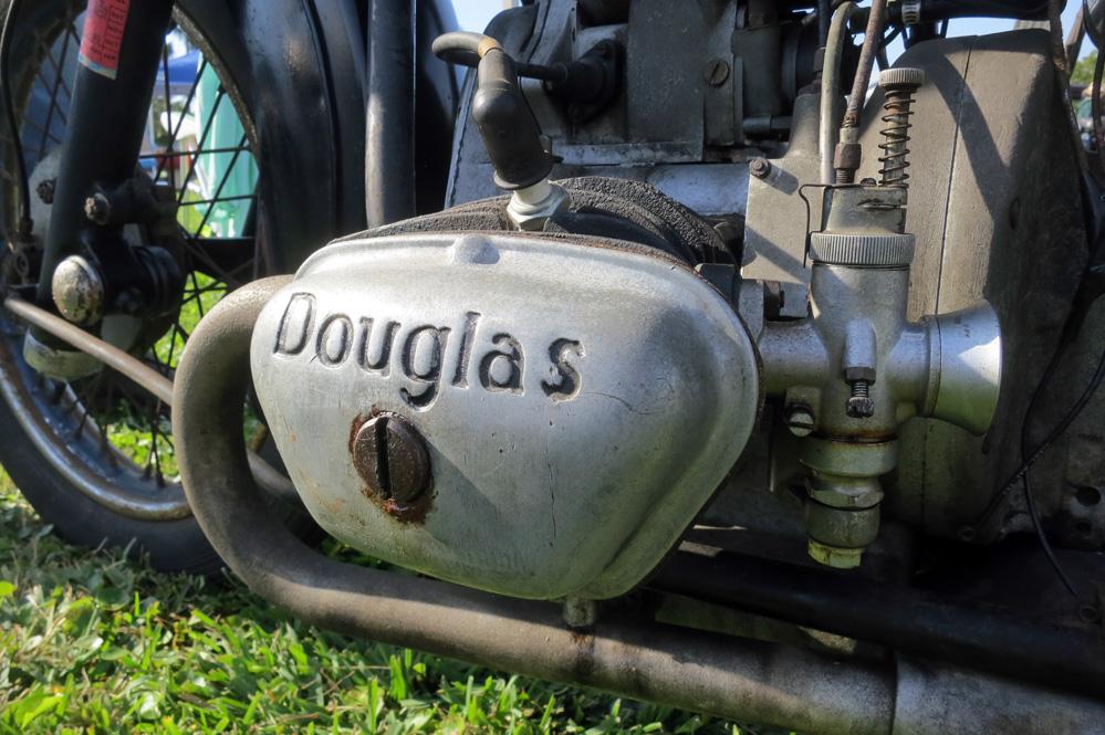 Douglas motorcycle.
