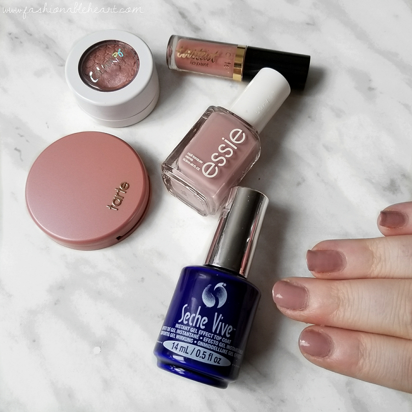 bbloggers, bbloggersca, canadian beauty bloggers, nail polish canada, seche, seche vite, seche vive, instant gel effect, top coat, gel nails, shiny, longlasting, no lamp needed, easy to remove, review, essie ladylike, opi, barry m