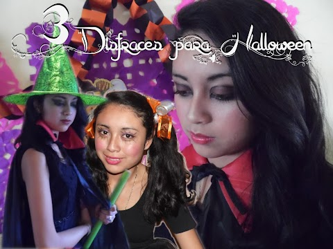 3 ideas de disfraces para halloween