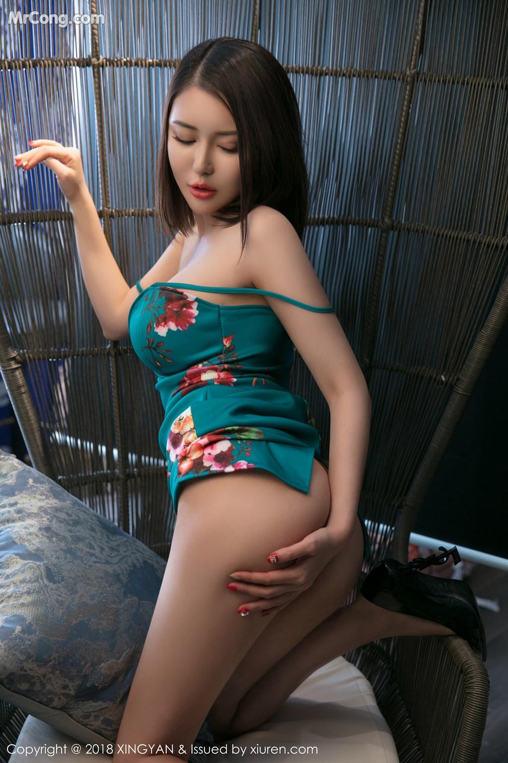 Image XingYan-Vol.028-MrCong.com-036 in post XingYan Vol.028: Người mẫu 廿十 (41 ảnh)