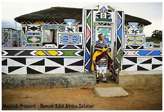 Desain Bentuk Rumah Adat Afrika Selatan dan Penjelasannya, Budaya dan arsitektur