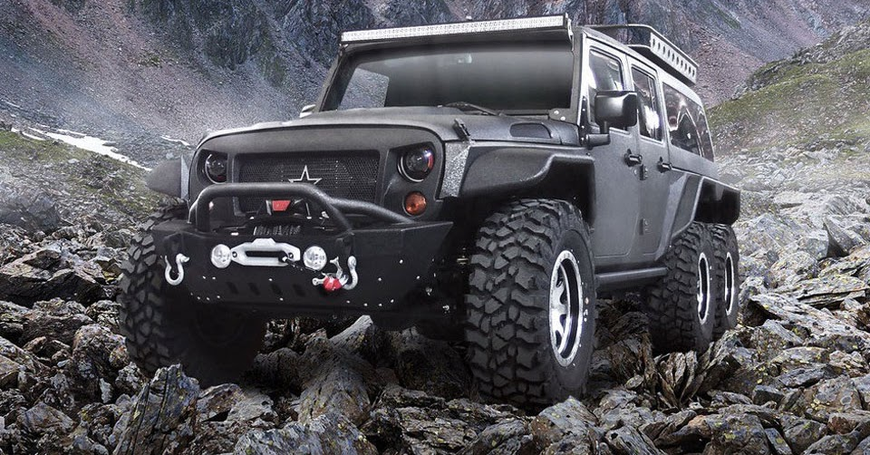 Chinese Firm Reveals 6x6 Jeep Wrangler Dubbed The Tomahawk