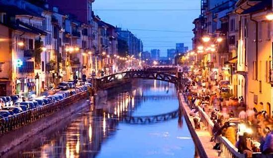 10 cosas en Milán Navigli
