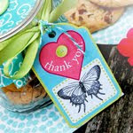 THANK YOU COOKIE JAR/GIFT TAG