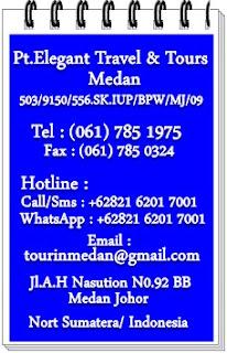 Elegant Address, pakej muslim medan, Pakej Medan 4D3N Muslim Tour, pakej percutian muslim ke medan, Pakej tour jimat tapi berkualitas, MEDAN 4D3N MUSLIM TOUR
