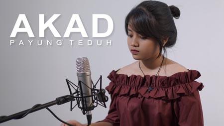 Lirik Lagu Akad – Hanin Dhiya (Cover)