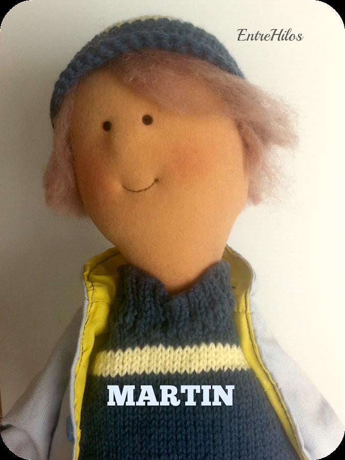 Un chico en la familia, Martín