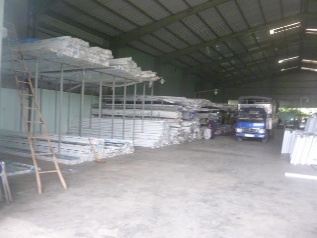 Nhà máy cung cấp thanh nhựa profile upvc cho nghành cửa nhựa lõi thép