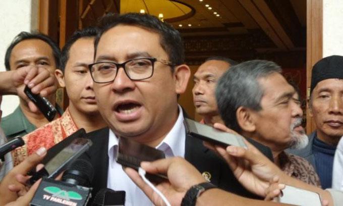 Setnov Mundur, Fadli Zon Jabat Plt Ketua DPR-RI