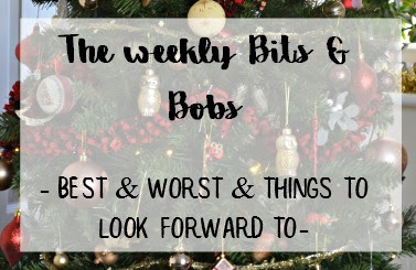 The best and worst this week and things to look forward to mumx3x
