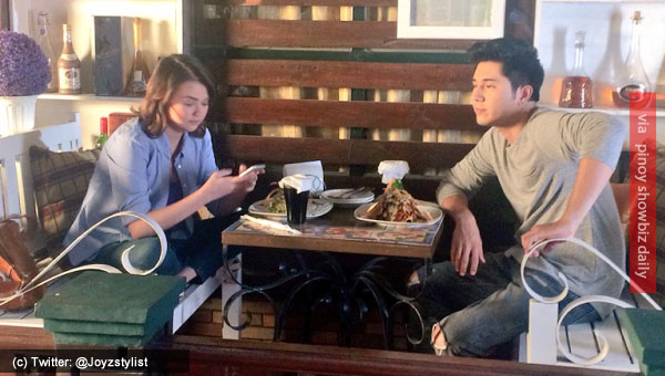 Spotted: Angelica Panganiban and Paulo Avelino dating?
