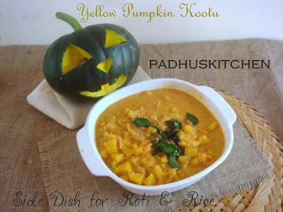 Parangikai Kootu-Yellow Pumpkin Gravy