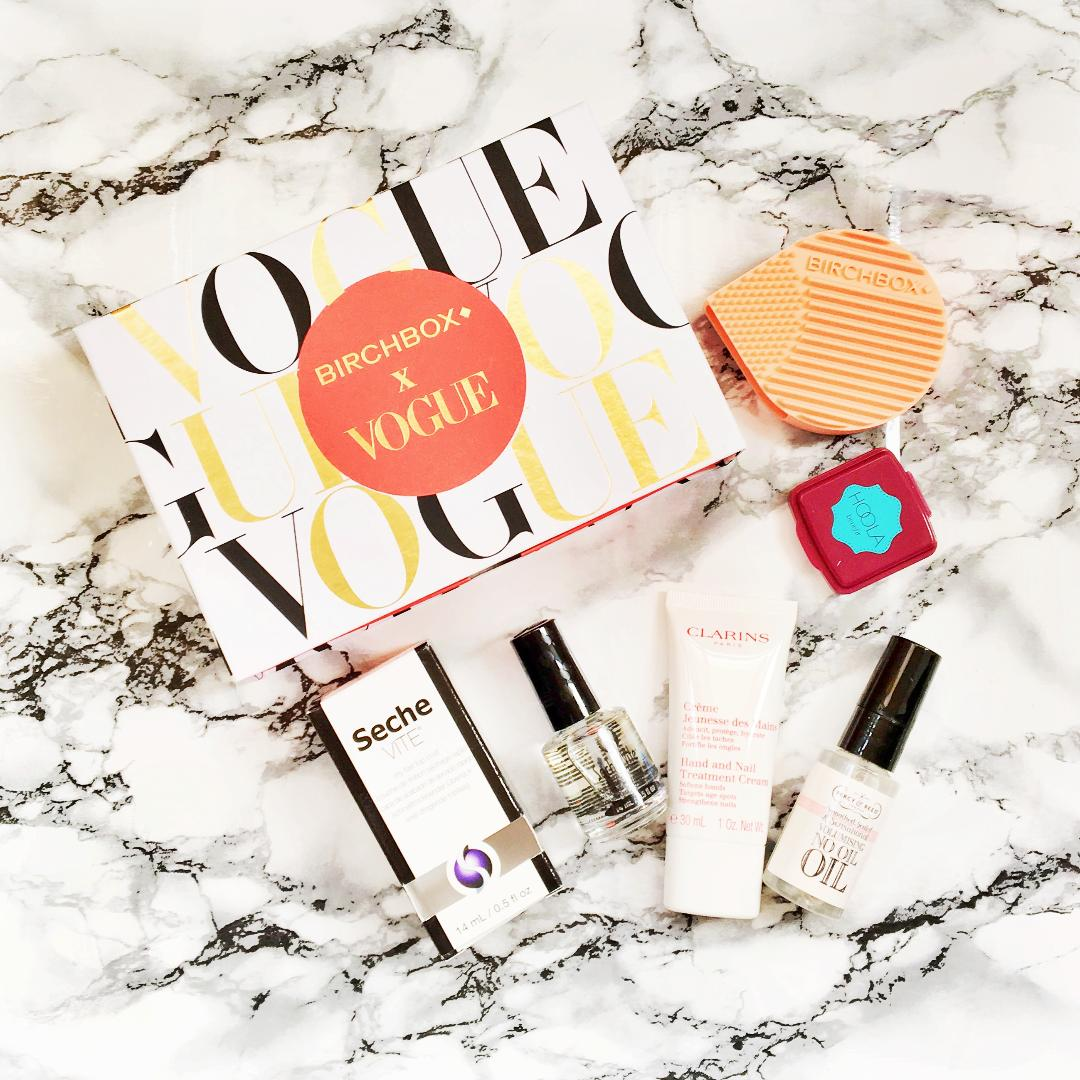 Seche Vite Dry Fast Top Coat, Benefit Hoola Bronzer, Clarins Hand Cream, Percy & Reed No Oil Oil, Birchbox Brush Cleaner Review