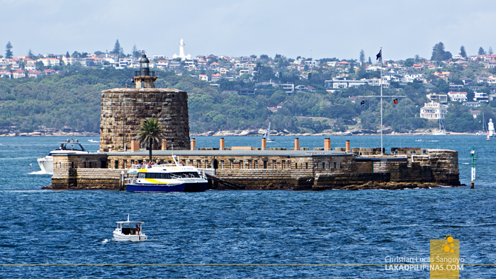 Sydney Harbour Cruise Fort Denison