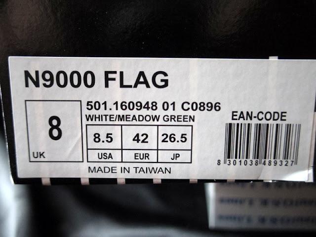 ディアドラN9000 スニーカー