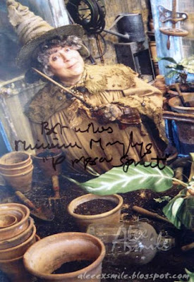 Miriam Margolyes Autograph profesor Sprout autograf Harry Potter
