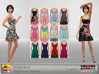 Belaloallure Stella Dress Recolor