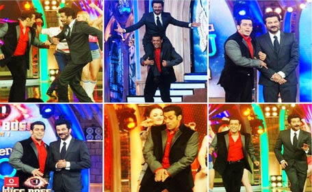 Anil Kapoor and Salman Khan set the stage on fire