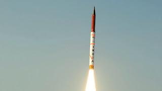 अग्नि-5 मिसाइल का सफल परीक्षण