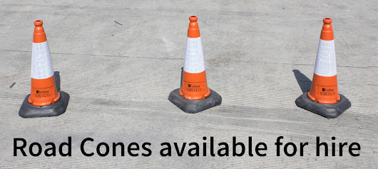 Road Cones - Available for hiring