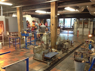 A Rainy Day in Vermont and a Glass Factory: Our Family-Style Anniversary