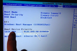 Cara Masuk Bios Laptop Lenovo G40 Untuk install Windows