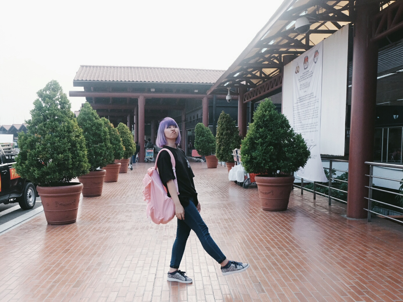 short escape to pontianak airport fashion | www.bigdreamerblog.com