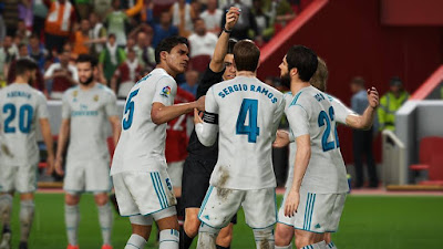 PRO EVOLUTION SOCCER 2018 SCREENSHOTS
