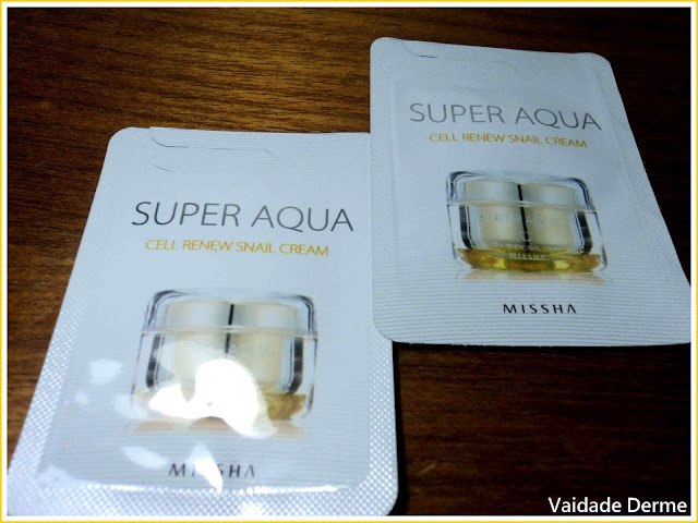 Hidratante Facial Missha Super Aqua Cell Renew Snail Cream