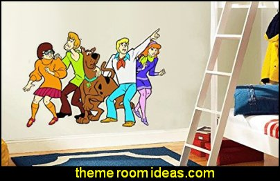 Scooby Doo Family Happy Cartoon Art Wall Home Decor Sticker