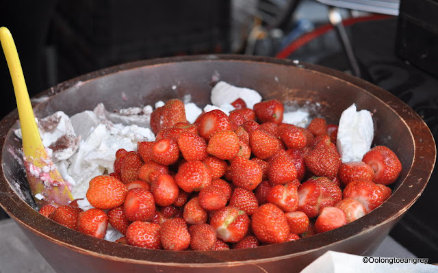 Strawberries, Covent Garden, London, UK