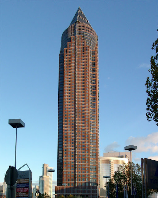 Messeturm, Trade Fair Tower, Friedrich-Ebert-Anlage, Frankfurt