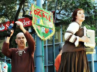 Grupo de Teatro de Rua Oigalê -  Negrinho do Pastoreio