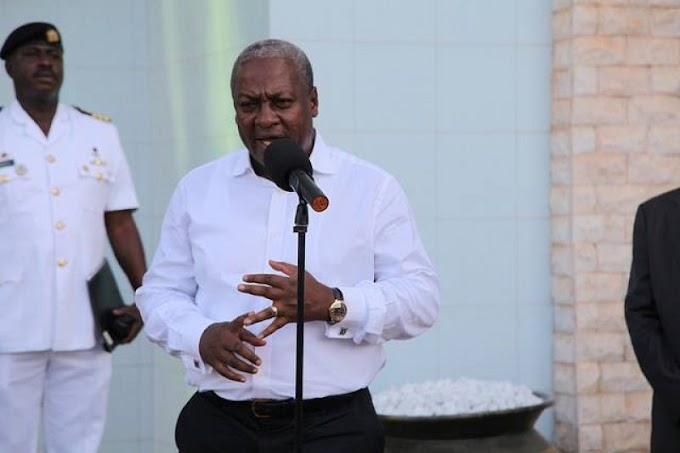 BREAKING NEWS: Mahama calls Akufo-Addo to concede