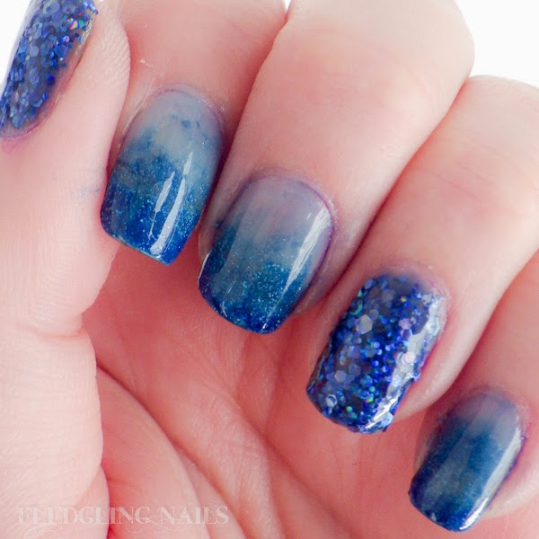 Fledgling Nails Nail Art Fingerfood S Theme Buffet 22 Under The Sea