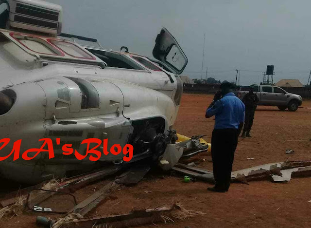 Why Osinbajo's chopper crash-landed, by AIB report